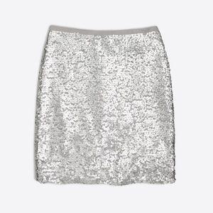 J.Crew matte sequin pencil skirt